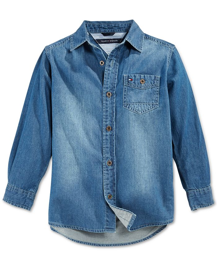 Tommy Hilfiger - Little Boys' Max Denim Shirt