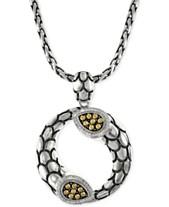 f6a1b1b88050b EFFY Diamond Scale Pendant Necklace (1 5 ct. t.w.) in 18k Gold