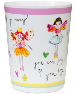 Creative Bath Faerie Princess Wastebasket Bedding