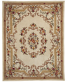 "CLOSEOUT! KM Home Majesty Aubusson 2'6"" x 8' Runner Rug, Created for Macy's"