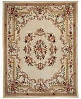 Km Home Majesty Aubusson Area Rug Collection Created For Macy S