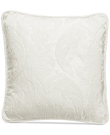 "Sure Fit Matelasse Damask 18"" Pillow"