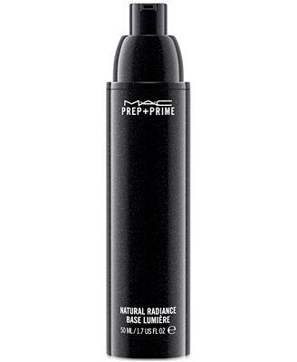 mac prep prime natural radiance makeup beauty macys