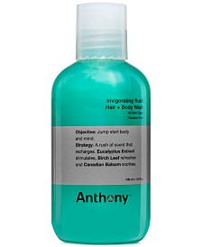 Anthony Invigorating Rush Hair & Body Wash, 3.4 oz