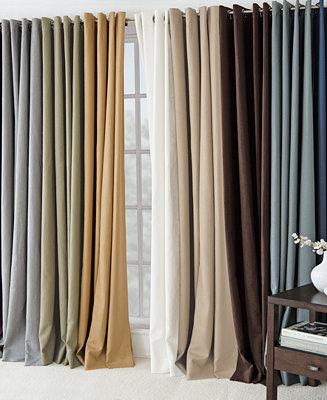 Elrene Essex Linen Window Treatment And Decorative Pillow