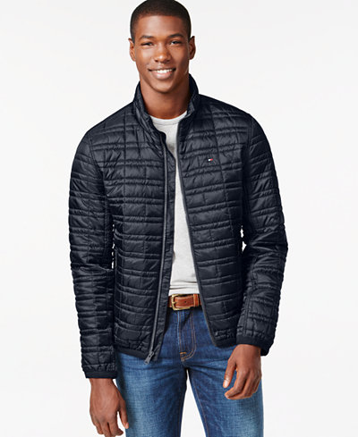 Tommy Hilfiger Platinum Insulator Quilted Jacket - Coats & Jackets ...