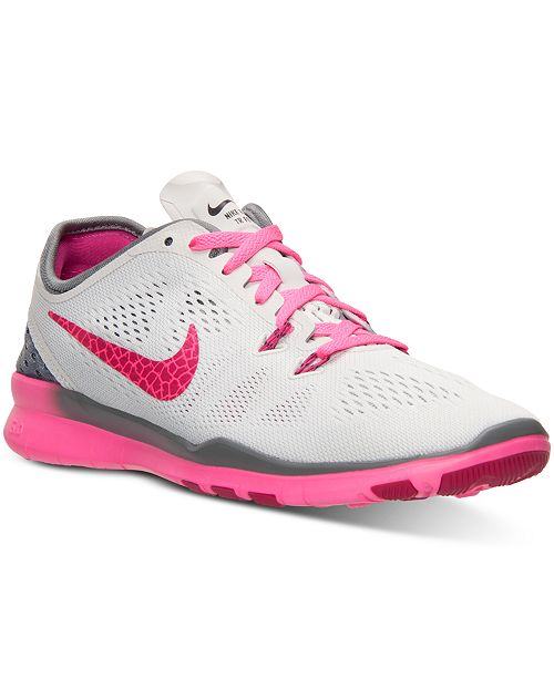 5c4998fe742d ... Nike Women s Free 5.0 TR Fit 5 Breathe Training Sneakers from Finish ...