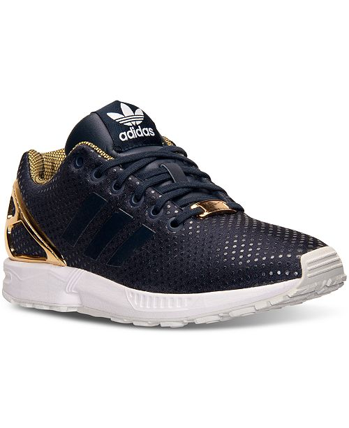 57183bd8a adidas Women s ZX Flux Casual Sneakers from Finish Line   Reviews ...
