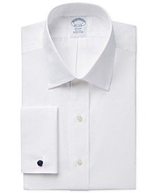 Regent Slim-Fit Non-Iron Solid French Cuff Broadcloth Dress Shirt