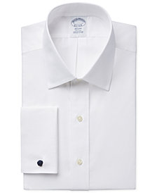 Brooks Brothers Regent Classic-Fit Non-Iron Solid French Cuff Dress Shirt