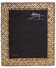 "Michael Aram Antique Gold-Tone 8"" x 10"" Palm Frame"