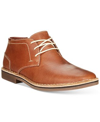 Kenneth Cole Reaction Desert Sun Leather Chukka Boots - All Men's ...