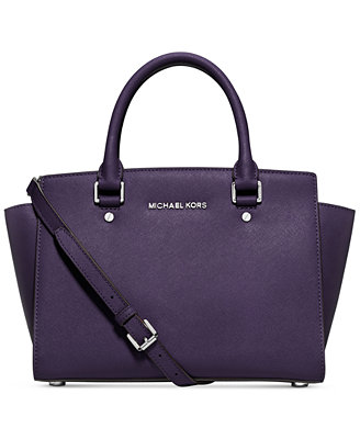 From $141.74 MICHAEL Michael Kors Selma Medium Satchel @ Macy's