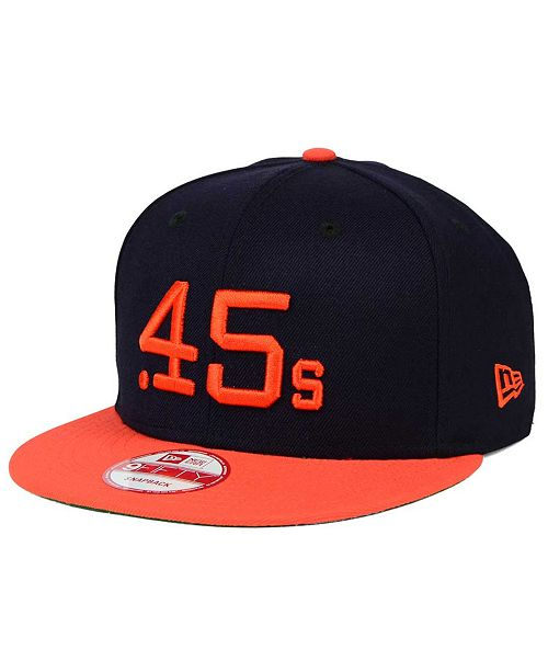9f5df8927c928 ... New Era Houston Colt .45s 2-Tone Link Cooperstown 9FIFTY Snapback Cap  ...