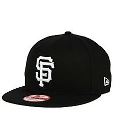 New Era San Francisco Giants B-Dub 9FIFTY Snapback Cap
