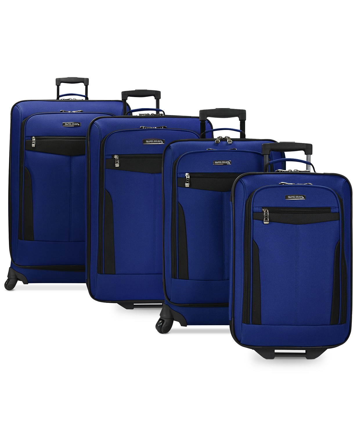 Travel Select Segovia 4-Piece Spinner Luggage Set