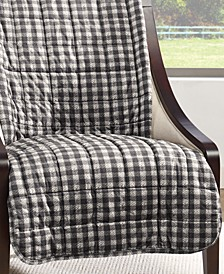 Velvet Deluxe Pet Armless Chair Slipcover with Sanitize Odor Release