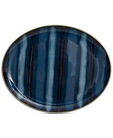 Dinnerware Stoneware Peveril Accent Oval Platter