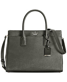 kate spade new york Cameron Street Candace Saffiano Leather Satchel