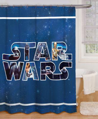 jay franco star wars microfiber shower curtain
