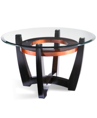 elation round coffee table - Side Tables For Living Room