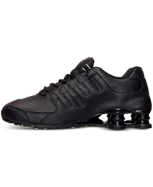 size 40 c43b6 0f3d7 ... Nike Men s Shox NZ EU Running Sneakers from Finish Line ...