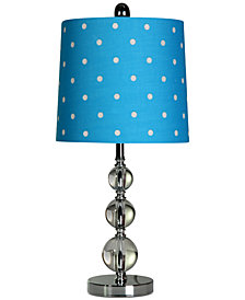 StyleCraft Sphere Metal Table Lamp