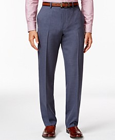 Flat-Front Slim-fit Herringbone Wrinkle-Resistant Pants, Created for Macy's