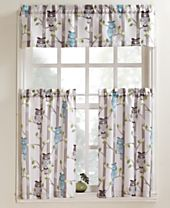 Lichtenberg No. 918 Hoot Tier and Valance Collection