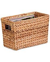 Honey-Can-Do Magazine Basket Water Hyacinth
