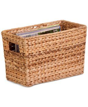 Honey-Can-Do Magazine Basket Water Hyacinth 2470667