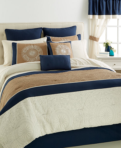 closeout monaco 24 pc california king comforter set on sale at macy 39 s for 500 was 500 0 off. Black Bedroom Furniture Sets. Home Design Ideas