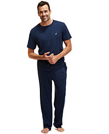 Nautica Knit Pajama T-Shirt and Nautica Knit Pajama Pants