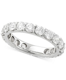Diamond Eternity Bands in 14k White Gold (1/2 ct. t.w. to 3 ct. t.w.)