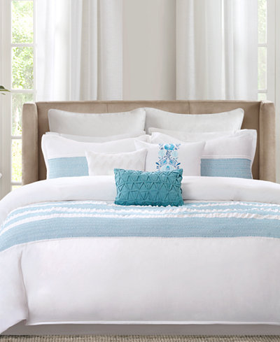 Echo Crete Teal California King Comforter Set Bedding
