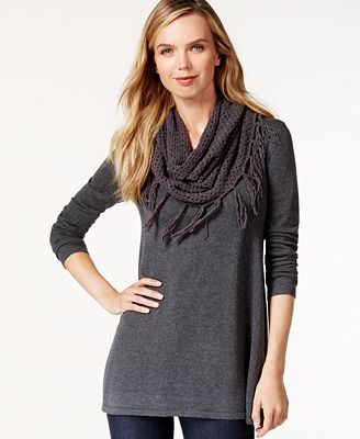 style co infinity scarf sweater only at macy s