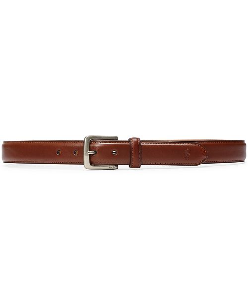 Polo Ralph Lauren Men's Suffield Leather Belt