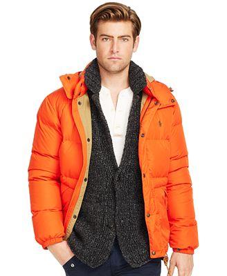 Polo Ralph Lauren Elmwood Down-Feathers Jacket - Coats & Jackets ...