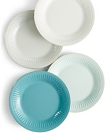 Lenox Dinnerware, French Perle Groove Dinner Plates
