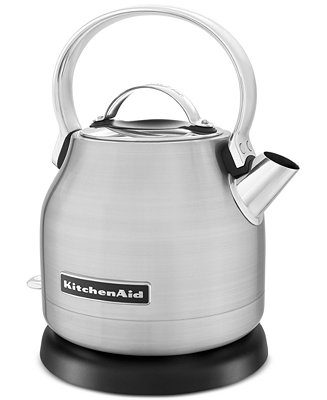kitchenaid kek1222sx electric kettle coffee tea. Black Bedroom Furniture Sets. Home Design Ideas
