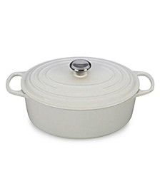 Signature Enameled Cast Iron 6.75 Qt. Oval French Oven