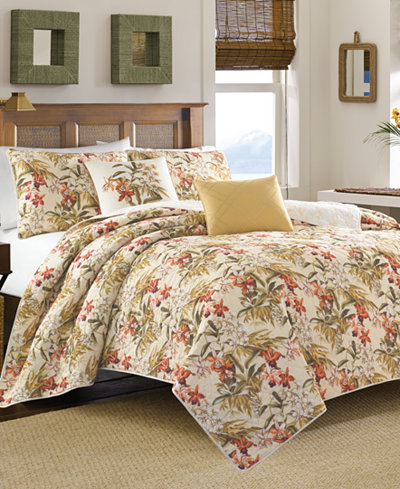 Tommy Bahama Home Daintree Tropic Full Queen Quilt