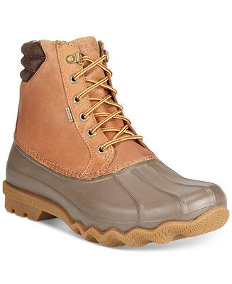 37d47f1f0ee Sperry Men's Avenue Duck Boots & Reviews - All Men's Shoes - Men ...