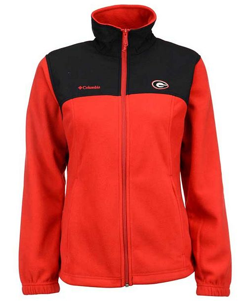 Columbia Women's Georgia Bulldogs Fast Tech Jacket
