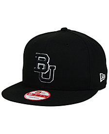 New Era Baylor Bears Black White 9FIFTY Snapback Cap