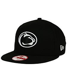 Penn State Nittany Lions NCAA Black White Fashion 9FIFTY Snapback Cap