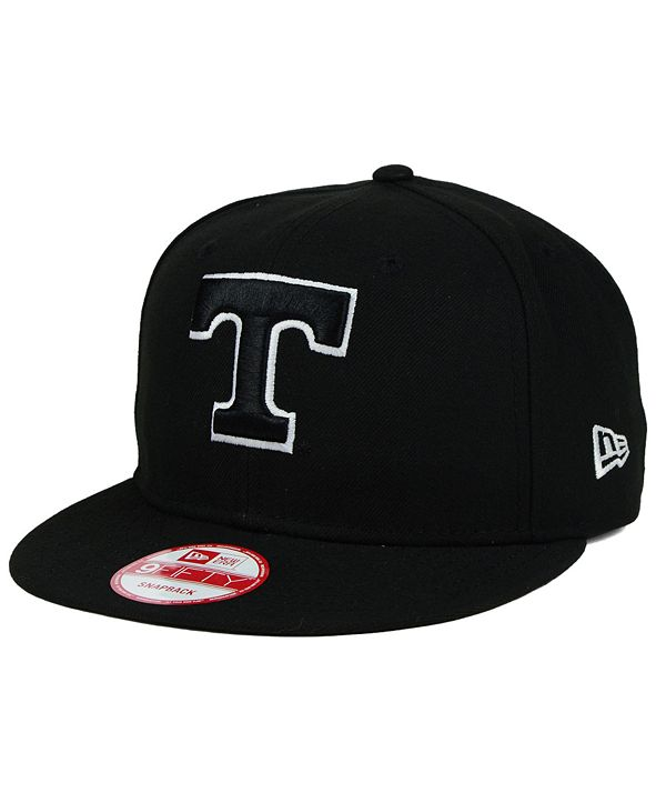 New Era Tennessee Volunteers Black White 9FIFTY Snapback Cap