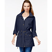 Style & Co. Anorak Womens Utility Jacket
