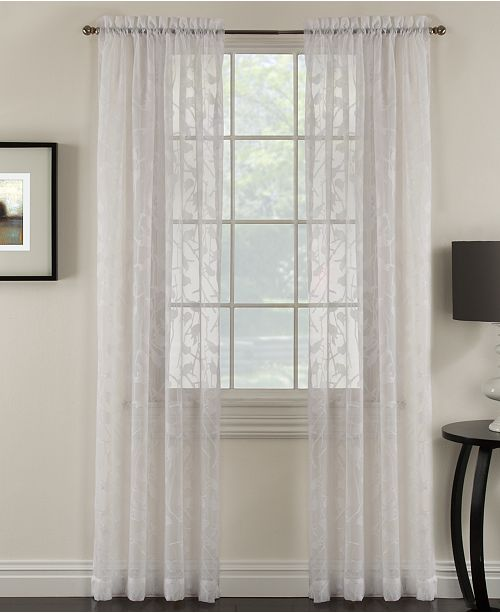 Miller Curtains Chickadee 48 X 84 Sheer Curtain Panel