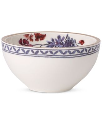 Artesano Provencal Lavender Collection Porcelain Rice Bowl